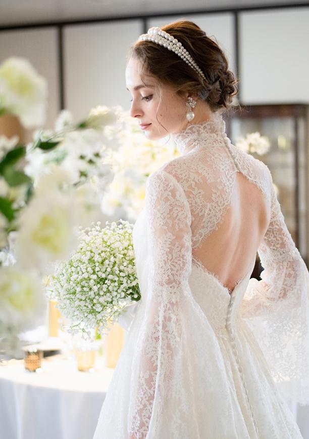 White dressの画像