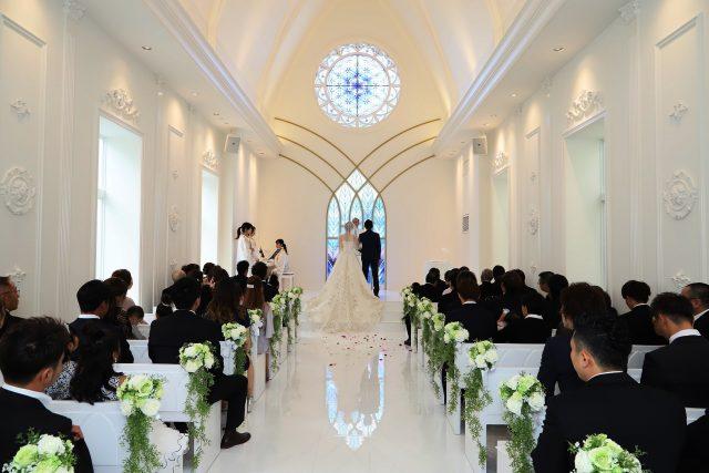 「1日まるごと!贅沢に結婚式場を使って安全・安心のラグジュアリーウェディング」ウエディングプランの画像